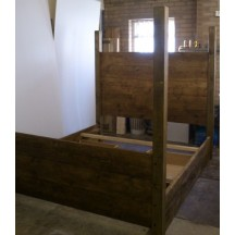 Farmhouse Plank High Post Bed